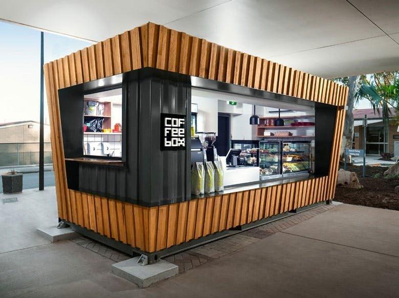 container lanchonete t a m miranda. Black Bedroom Furniture Sets. Home Design Ideas