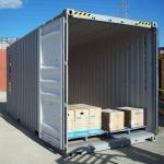 Container almoxarifado para obra