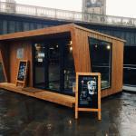 Stand de vendas container