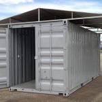 Aluguel de container para construção