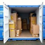Container para arquivo