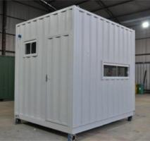 Container guarita com banheiro