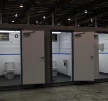 Container sanitário locação